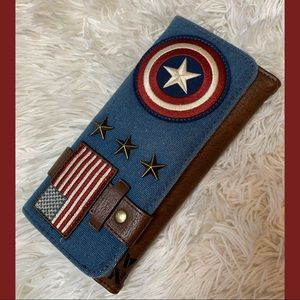 Loungefly Captain America Wallet RARE